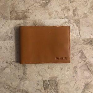 Pal zileri Italian leather wallet